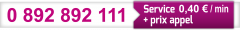 Numéro de téléphone Neopost